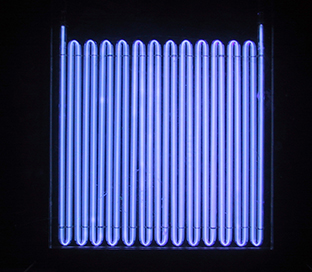 high-density UV grid lamp